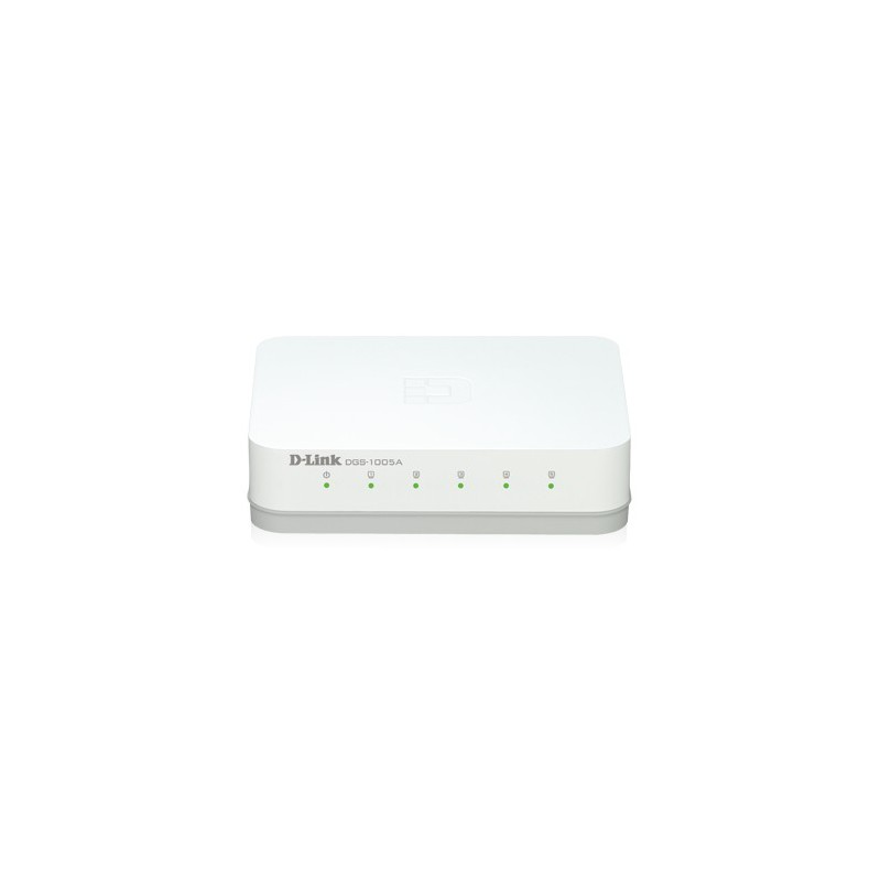 Switch D-Link Gigabit 5 ports 10/100/1000 Mbps