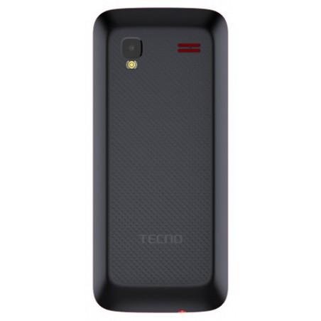 Téléphone Portable Tecno T483 / Double SIM / Noir + SIM Offerte