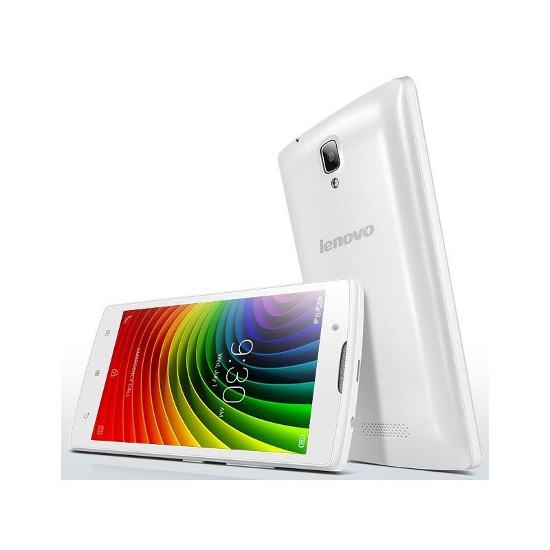Téléphone Portable Lenovo A2010 / 4G / Double SIM / Blanc