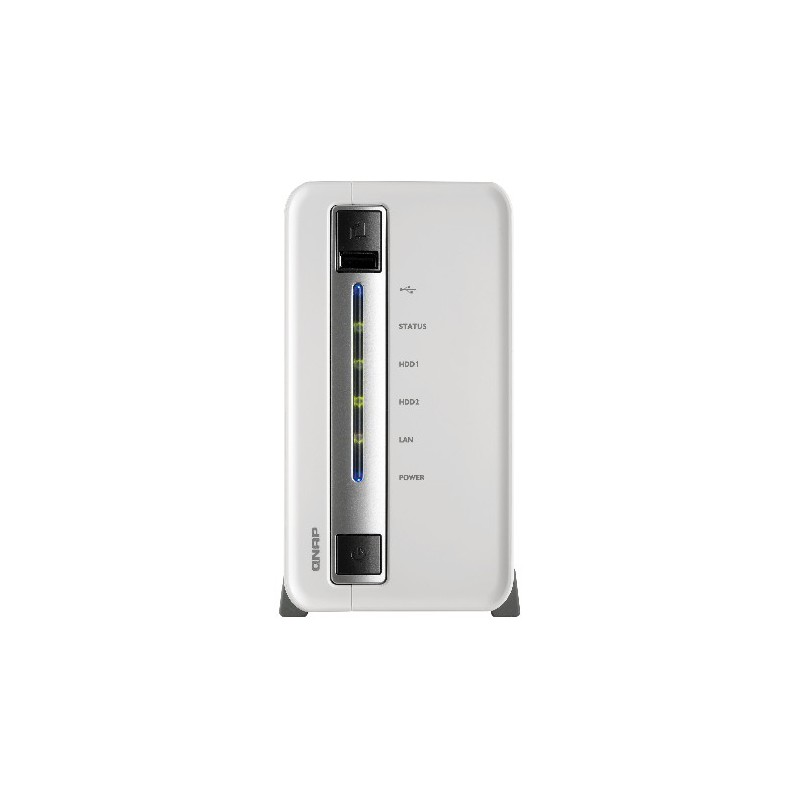 Serveur NAS 2 Baies QNAP TS-212P / 2To