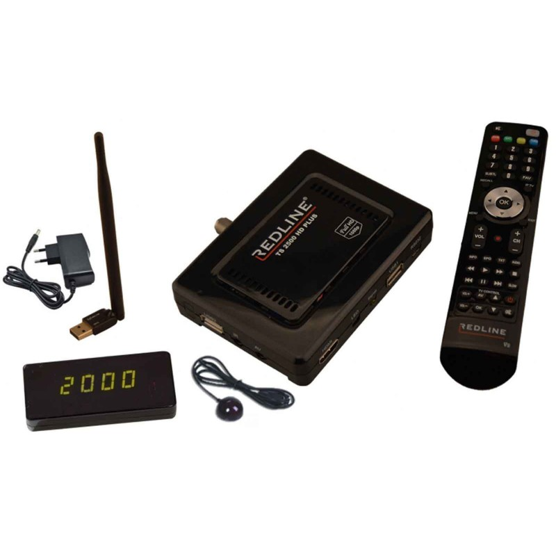 Récepteur Redline TS-2500 HD PLUS / Wifi