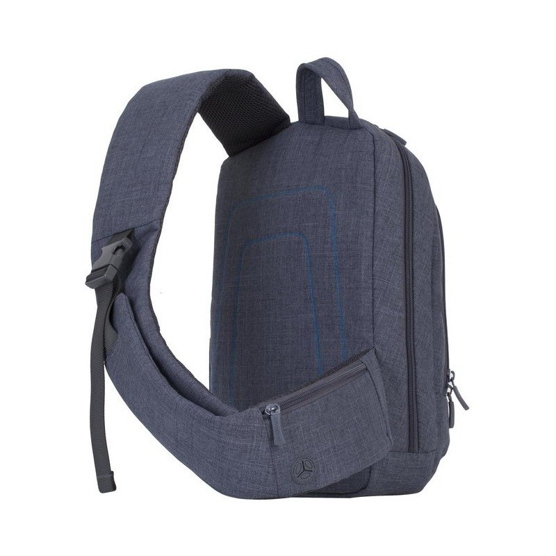sac dos rivacase 7529 pour pc portable 13 3 gris. Black Bedroom Furniture Sets. Home Design Ideas