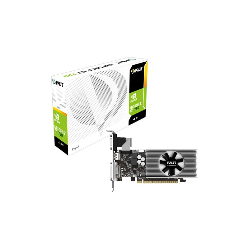 Carte graphique Palit GeForce GT 730 / 4 Go DDR3