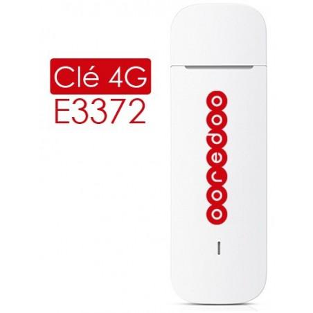 Pack Clé 3G Ooredoo + 1 Mois d'internet Gratuit