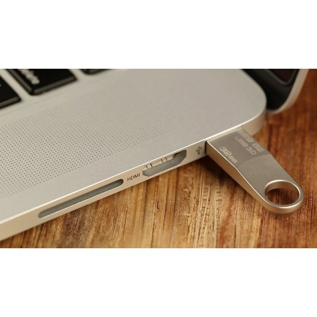 Clé USB Cruzer Edge 8 Go Blanc & Rose