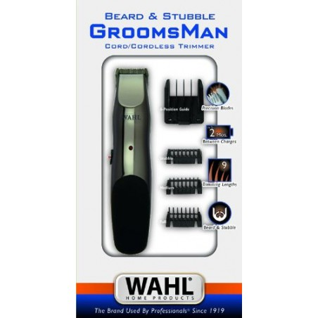 Tondeuse Cheveux Wahl Grooms Man Rechargeable - Cord / Cordless