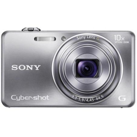 Appareil Photo Sony Cyber Shot WX100 / 18 MP / Noir