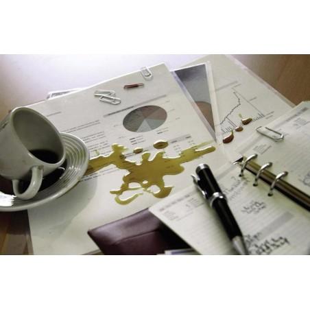 100x Pochettes de plastification GBC A4 brillant 2x75 microns