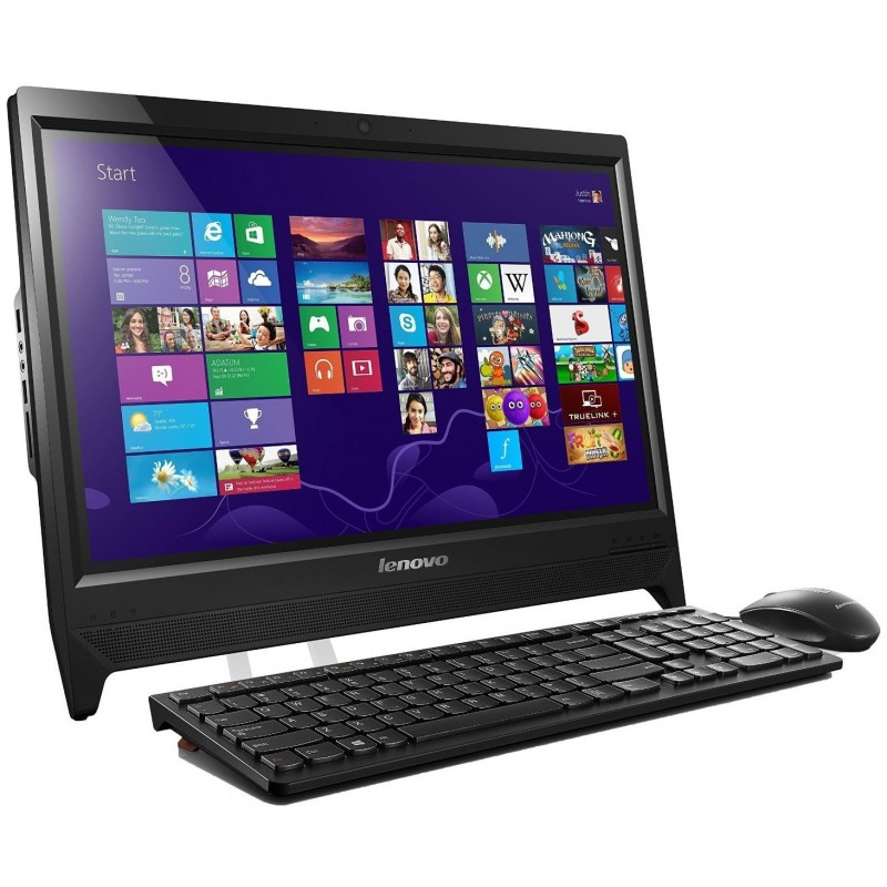 Pc de bureau Lenovo C260 / Quad Core / 4Go / Noir