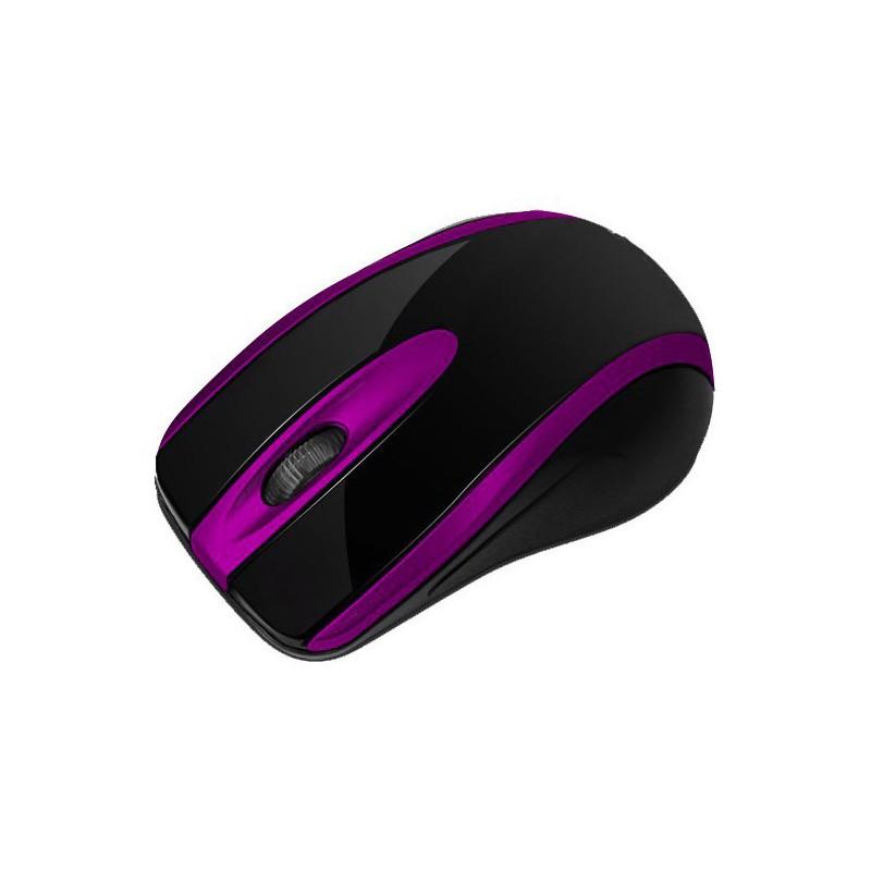 Souris Optique USB Macro M555 / Noir & Bleu
