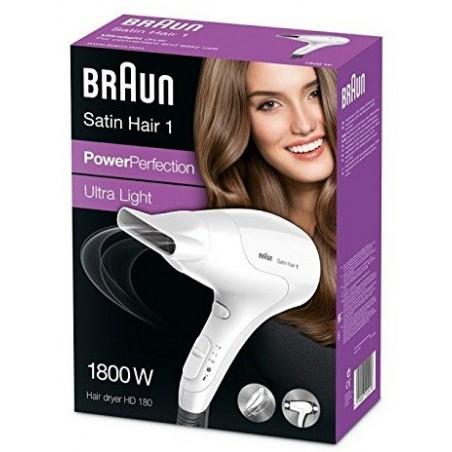 Sèche cheveux Braun satin hair HD 180 / 1800 W