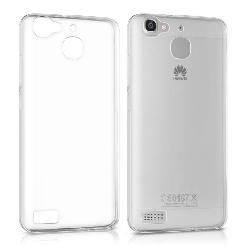 Coque en Silicone pour Huawei GR3 / Transparent