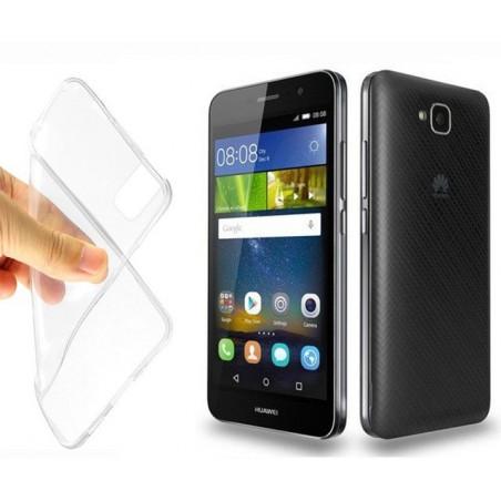 Coque en Silicone pour Huawei Y6 PRO / Transparent