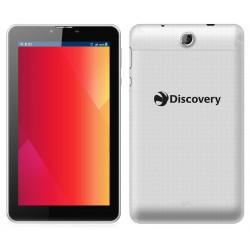 """Tablette Discovery Parrot 7"""" Blanc + Film de protection + Lunettes 3D + Montre"""