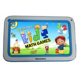 "Tablette Discovery Happy Space 7"" Blanc&Bleu + Montre"
