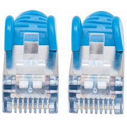 Câble RJ45 Cat6a SFTP 10 Gigabit / 2M / Bleu