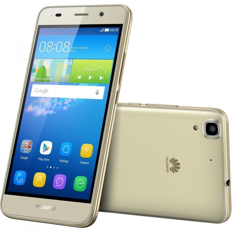 Téléphone Portable Huawei Y6 LTE (4G) / Gold + SIM Offerte
