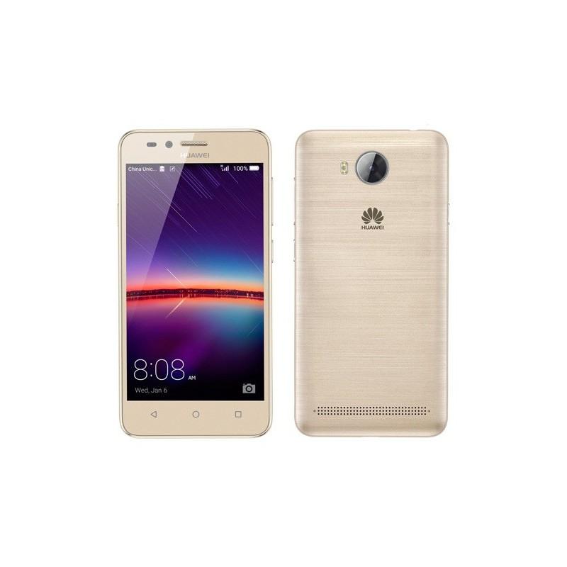 Téléphone Portable Huawei Y3 II 4G / Gold + Film de protection + Coque + SIM Offerte