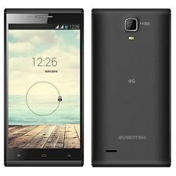 Téléphone Portable Evertek EverTrendy + 4G / Double SIM / Noir + SIM Offerte