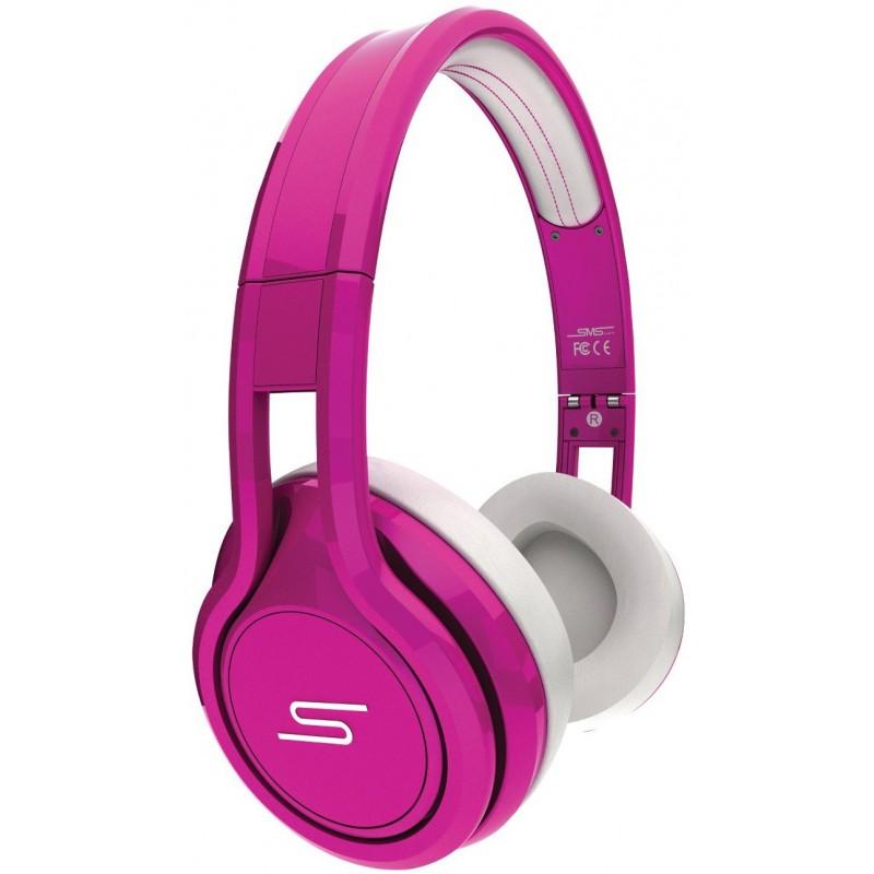 Casque Micro SMS Audio Street par 50 Cent / Rose