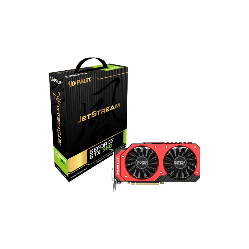 Carte graphique Palit GeForce GTX 960 JetStream / 4 Go DDR5
