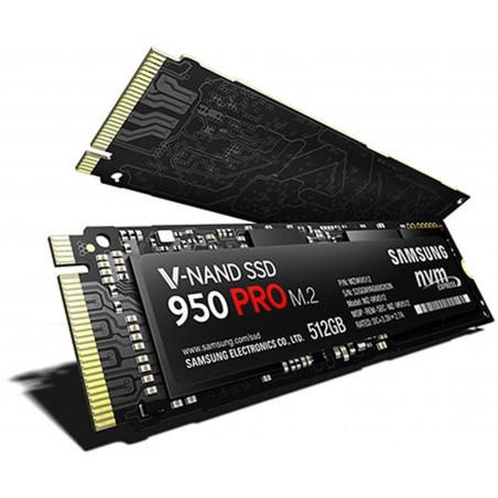 Disque dur Samsung SSD 950 PRO M.2 PCIe 512 Go