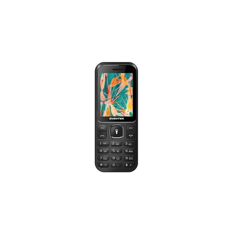 Téléphone Portable Evertek Light + / Double SIM / Noir