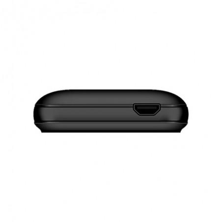 Téléphone Portable Evertek Light + / Double SIM / Noir & Rouge