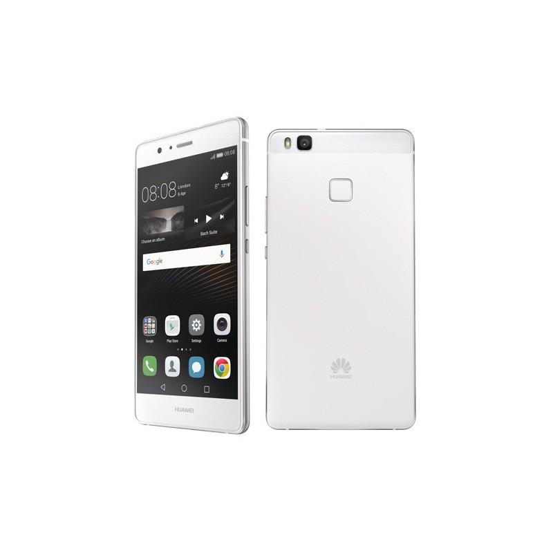 Téléphone Portable Huawei P9 Lite / 4G / Double SIM / Blanc + SIM Offerte