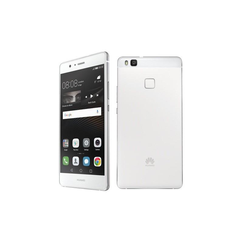 Téléphone Portable Huawei P9 Lite / 4G / Double SIM / Blanc + SIM Offerte + Film de protection + Coque