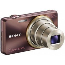 Appareil Photo Sony Cyber Shot WX100 / 18 MP / Silver