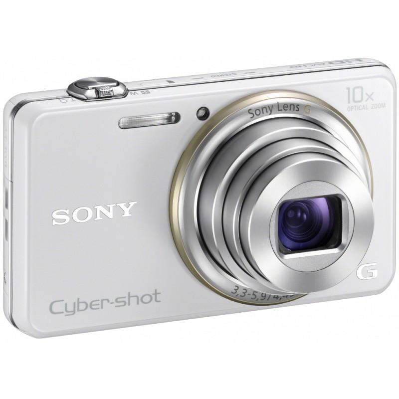 Appareil Photo Sony Cyber Shot WX100 / 18 MP / Marron