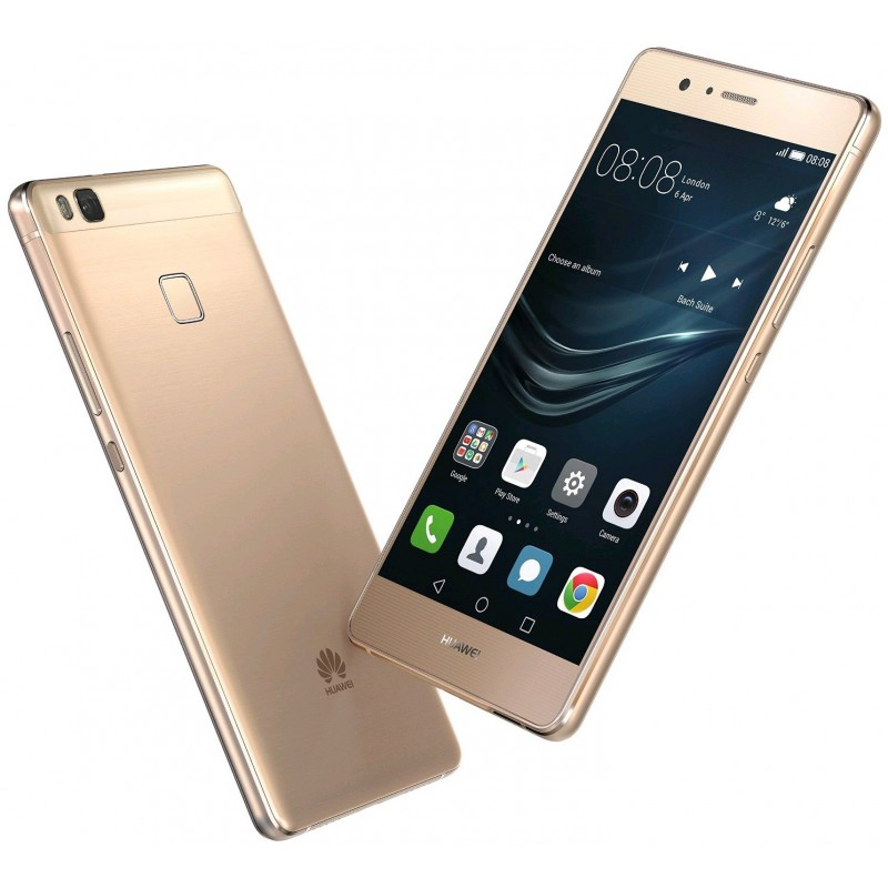 Téléphone Portable Huawei P9 Lite / 4G / Double SIM / Gold + SIM Offerte +