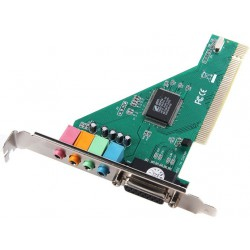 Carte Son PCI 4 Channel 5.1