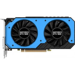Carte graphique Palit GeForce GTX 950 StormX Dula OC / 2 Go GDDR5