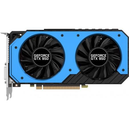 Carte graphique Palit GeForce GTX 950 StormX Dula OC / 2 Go GDDR5