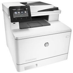 Imprimante multifonction HP Color LaserJet Pro MFP M477fnw