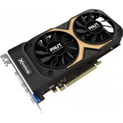 Carte graphique Palit GeForce GTX 750 Ti StormX Dual / 2 Go GDDR5