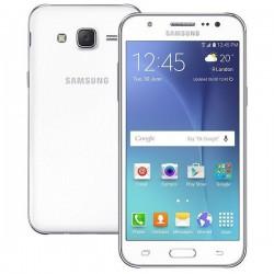 Téléphone Portable Samsung Galaxy J5 2016 / 4G / Double SIM / Blanc  + SIM Offerte