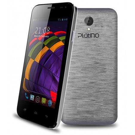 Téléphone Portable Platino Venus / Double SIM / Silver + SIM Offerte