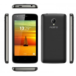 Téléphone Portable Platino Lotus / Double SIM / Noir + SIM Offerte