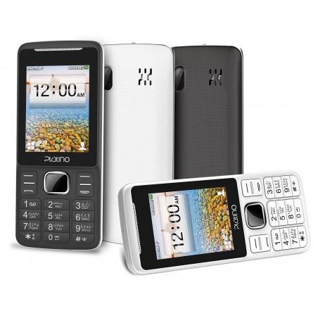 Téléphone Portable Platino Tulipe / Double SIM / Blanc
