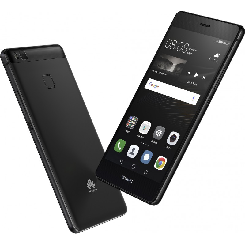 Téléphone Portable Huawei P9 Lite / 4G / Double SIM / Noir + SIM Offerte