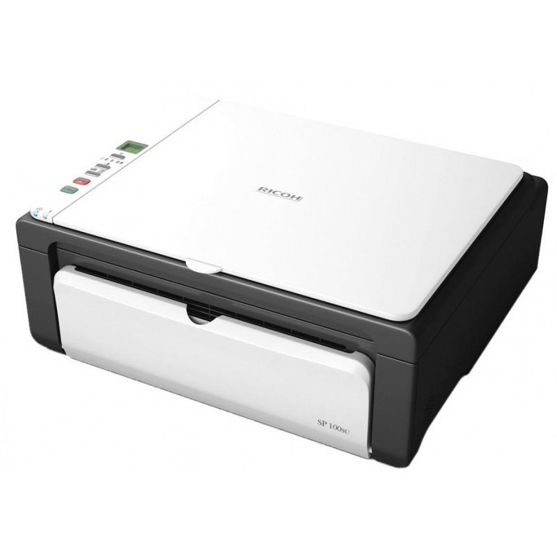 Imprimante Laser Multifonction 3en1 Noir & Blanc Ricoh SP 100SU