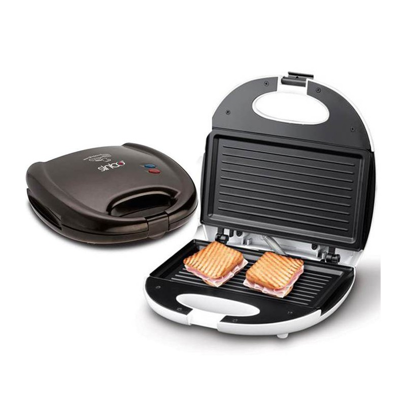 Sandwich maker panini sinbo ssm 2512 for Appareil convivial