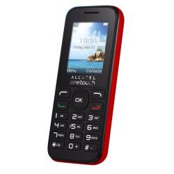 Téléphone Portable Alcatel Falcao 1050D / Double SIM / Blanc + SIM Offerte