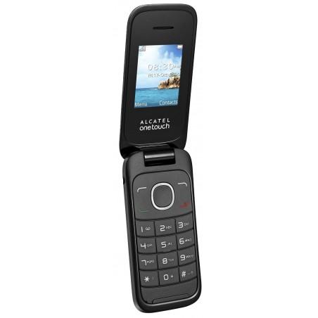 Téléphone Portable Alcatel Falcao 1050D / Double SIM / Noir + SIM Offerte