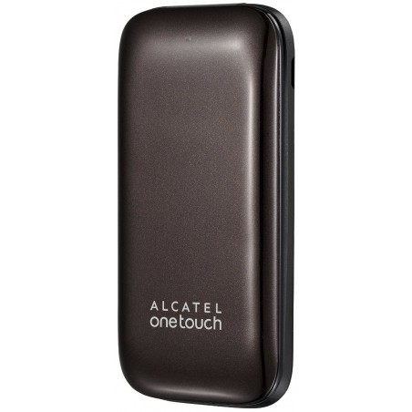 Téléphone Portable Alcatel Falcao 1035D / Double SIM / Marron + SIM Offerte