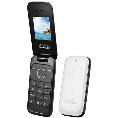Téléphone Portable Alcatel Falcao 1035D / Double SIM / Blanc + SIM Offerte