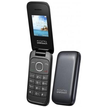 Téléphone Portable Alcatel Falcao 1035D / Double SIM / Gris + SIM Offerte
